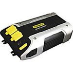 Stanley PC509 500 Watt Power Converter with DC Plug. Simply connect to vehicle's battery or 12 Volt accessory outlet and access instant power. Converts vehicle's battery into a household outlet